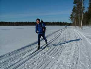 Rajalta rajalle hiihto