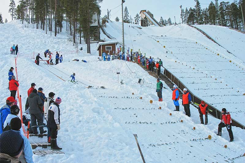 Tapsan CUP ski jumping competition