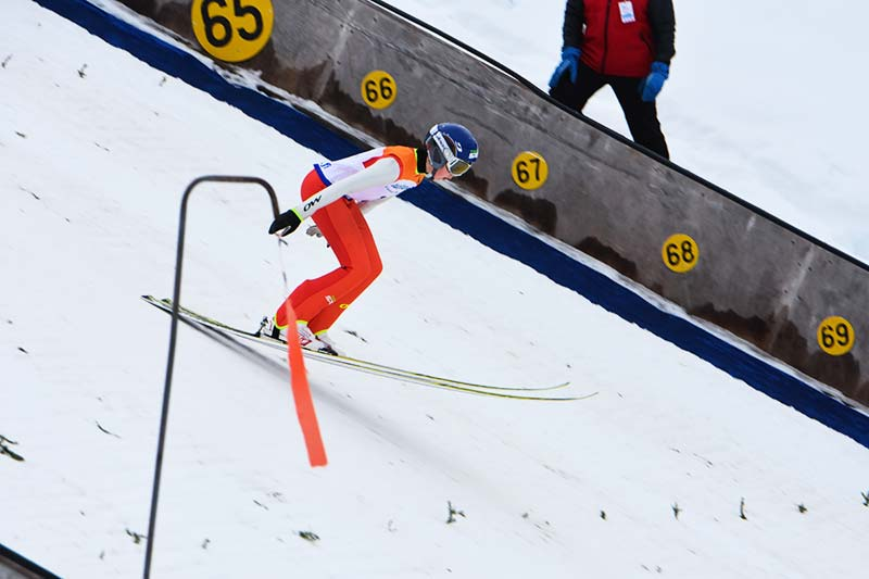 Ski jumping and nordic combined competition Hopeasompa