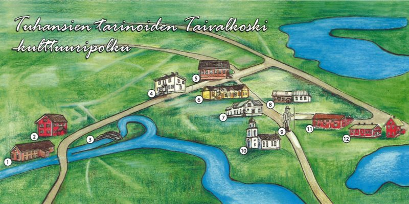 Cultural Trail: Taivalkoski of a Thousands Stories