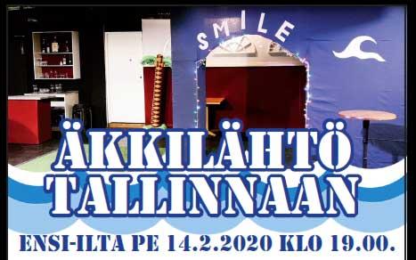 Äkkilähtö Tallinnaan